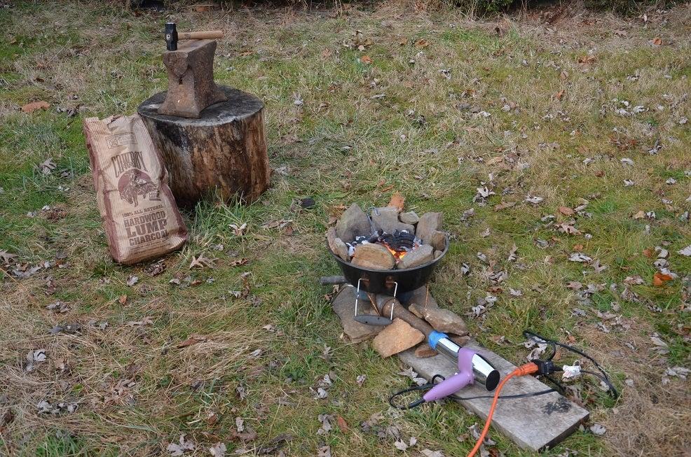 backyard forge