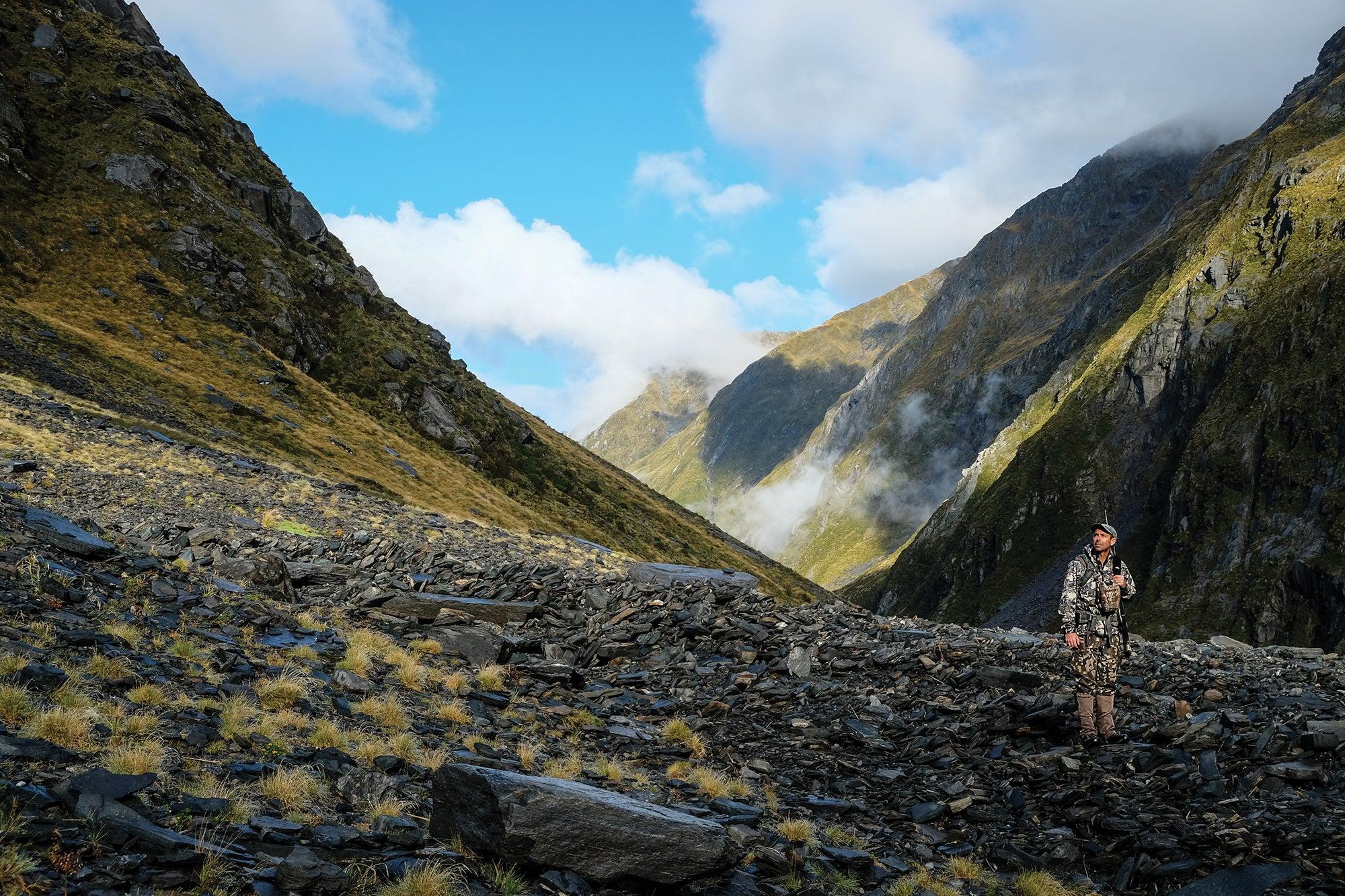 New Zealand hunting