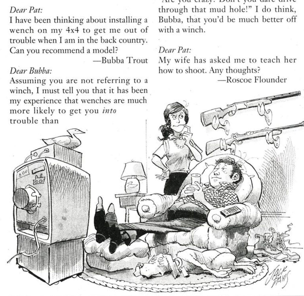 wenches and wives cartoon