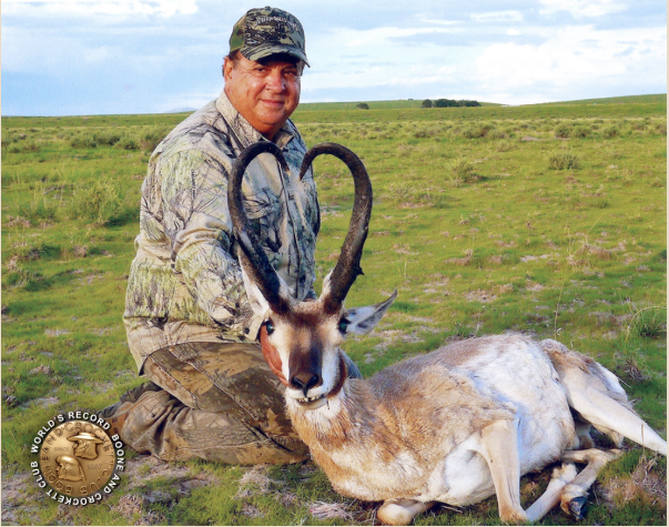 Record Pronghorn Certified by Boone and Crockett