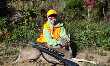 QDMA Military Youth Hunt: 13-Year-Old Shoots First Deer
