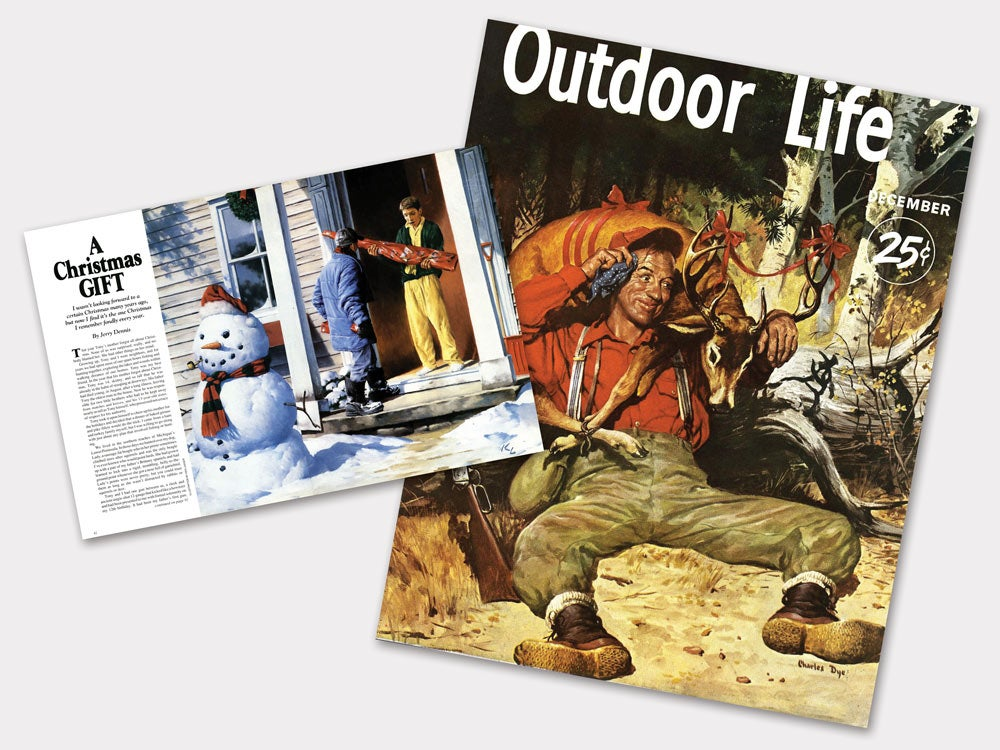 Outdoor Life vintage christmas issues