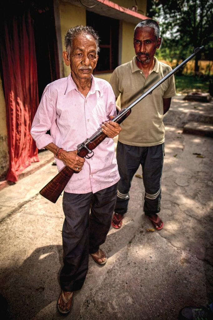 Corbet rifle returns to India