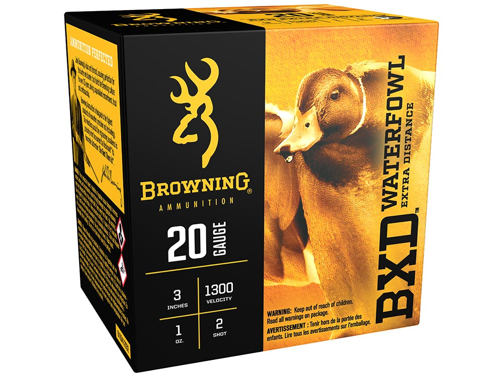 Browning BXD Waterfowl ammo