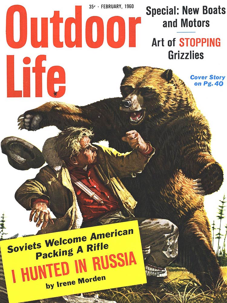 February 1960 Cover of Outdoor Life