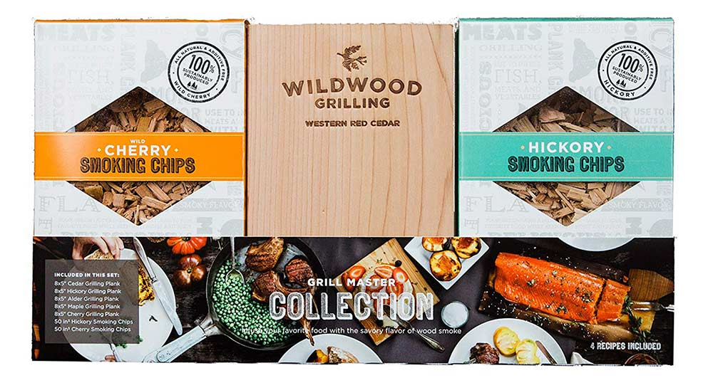 Wildwood Grilling Planks Sampler