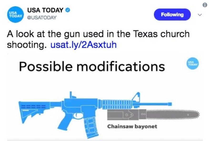 chainsaw bayonet AR