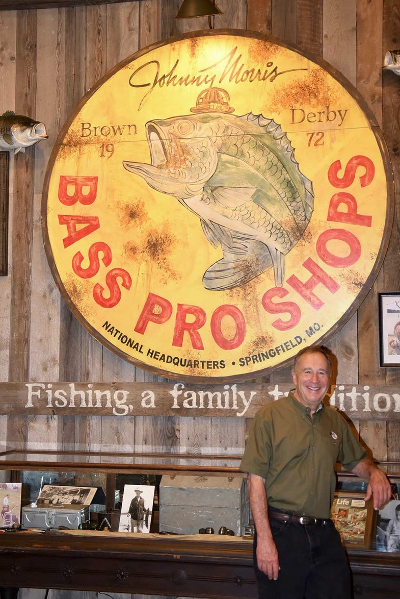 Johnny Morris, founder of Bass Pro Shops