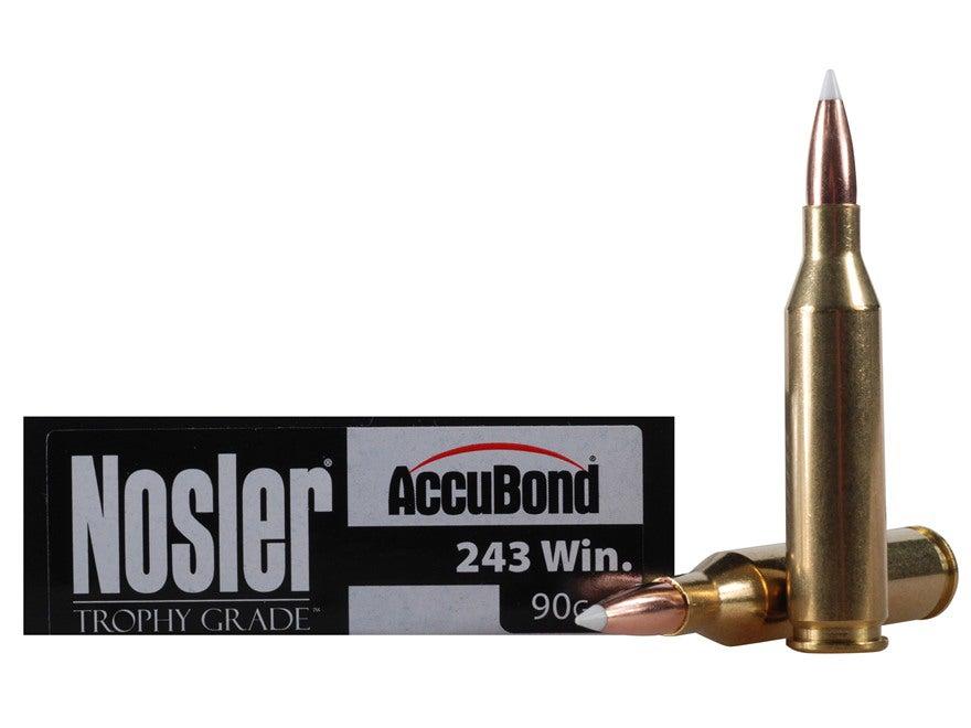 nosler accubond .243 Winchester ammo