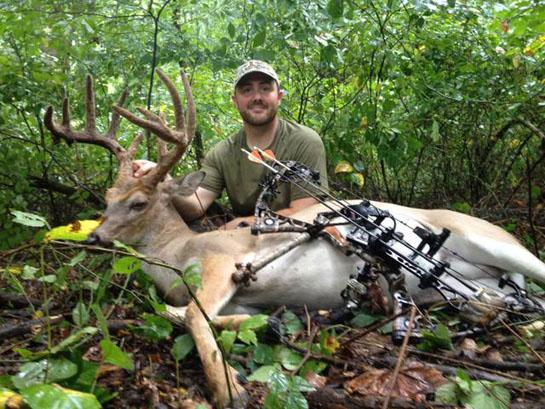 Sweet Success: Hunter Tags His First Velvet Deer