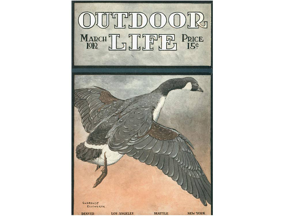 March 1912 cover of Outdoor Life
