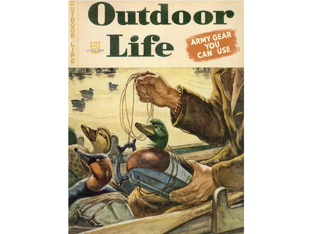 January 1946 cover of Outdoor Life