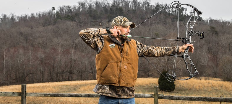 will brantley shooting an Elite Ritiual compound bow