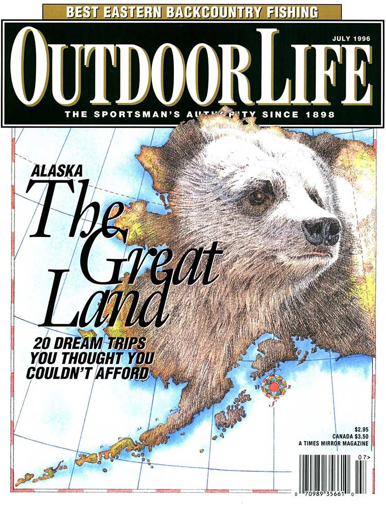 July 1996 Cover of Outdoor Life