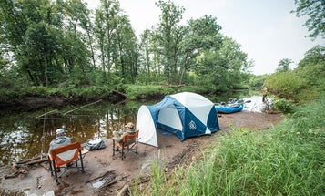 Rafting and Camping for Wisconsin Wilderness Smallmouths