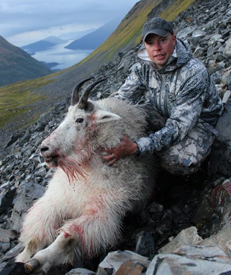 Live Hunt: Stalking Mountain Goats on the Cliffs of Kodiak Island