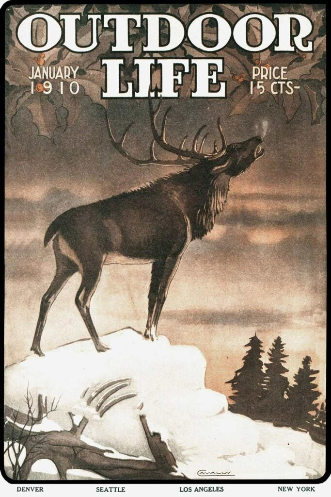 January 1910 Cover of Outdoor Life