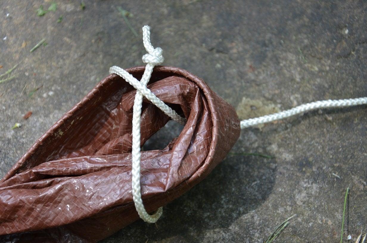 Survival Skills: 3 Tricks for Rigging Tarp Shelters