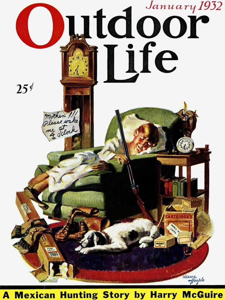 January 1932 Cover of Outdoor Life