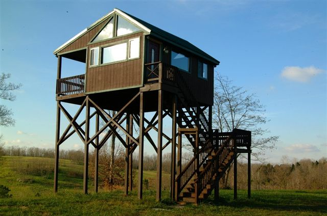You can rent this blind during hunting season.