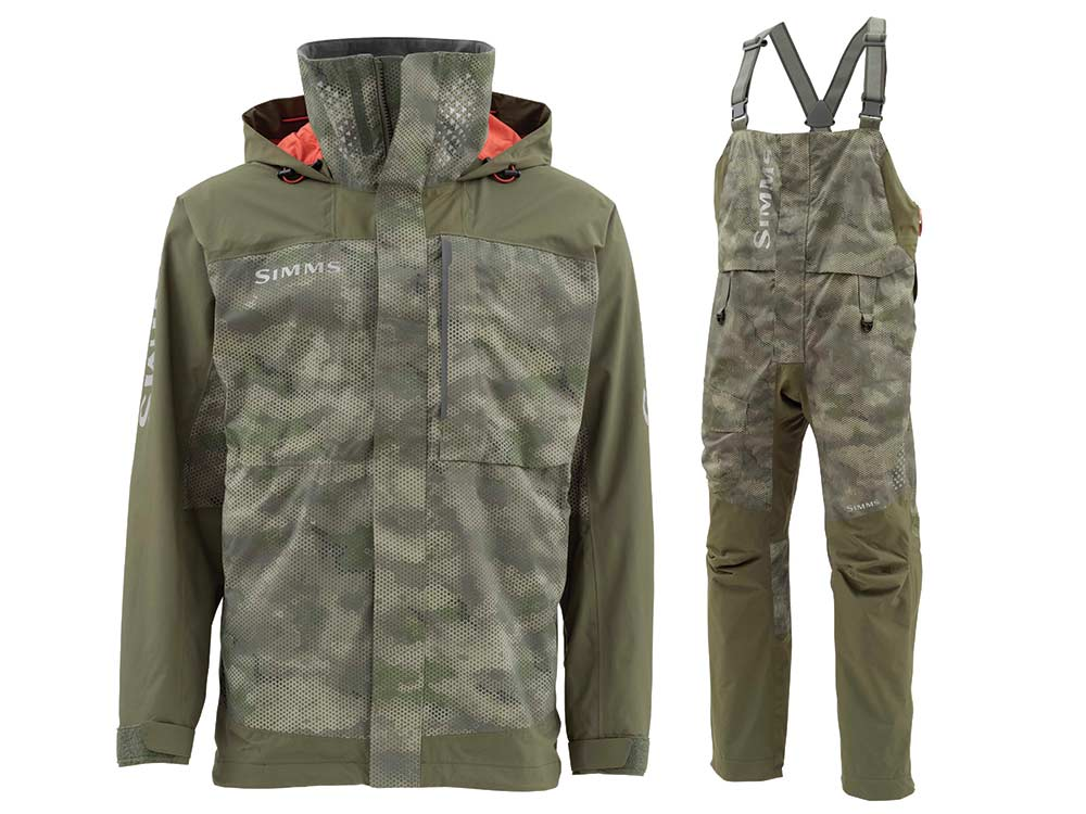 simms challenger jacket and bibs