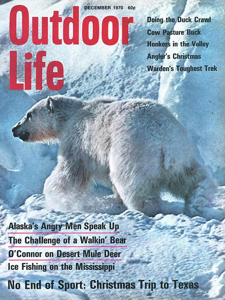 December 1970 Cover of Outdoor Life