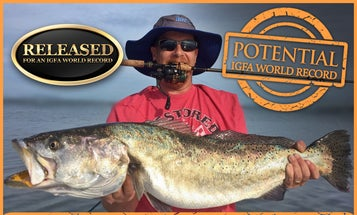 Big Fish: How to Catch Record Spotted Seatrout Like this Indian River Monster
