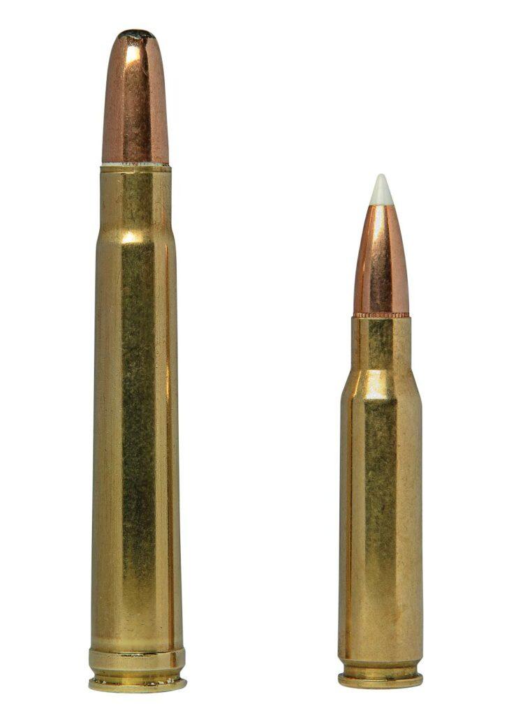 .375 H&H and .308 ammunition