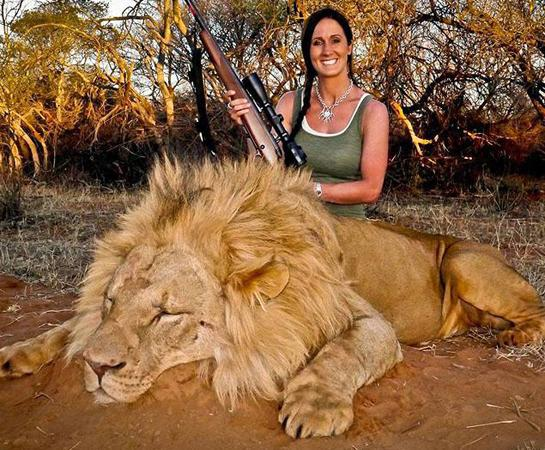 Hunting Show Host Melissa Bachman Under Fire for Lion Hunt Photo
