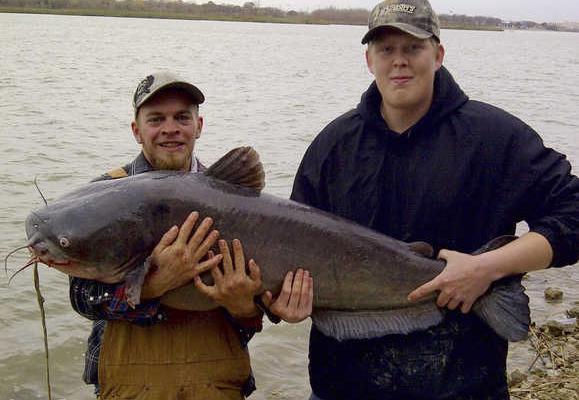 Two Fishing Buddies Break Lake Worth's Catfish Record