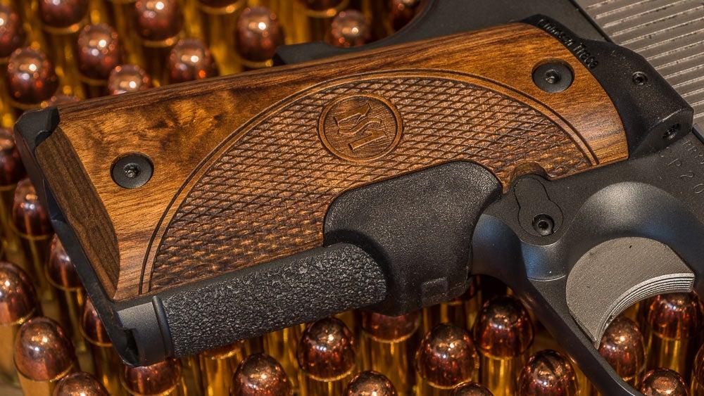 Crimson Trace master series custom handgun grips