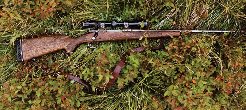 weathered winchester model 70