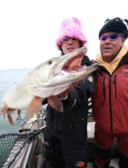 The Maina Vent:  Muskie Fishing Legend Pete Maina Shares His Secrets to Catching Big Fish