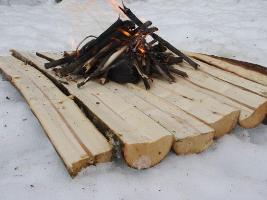 Survival Skills: How to Build a Fire On Snow
