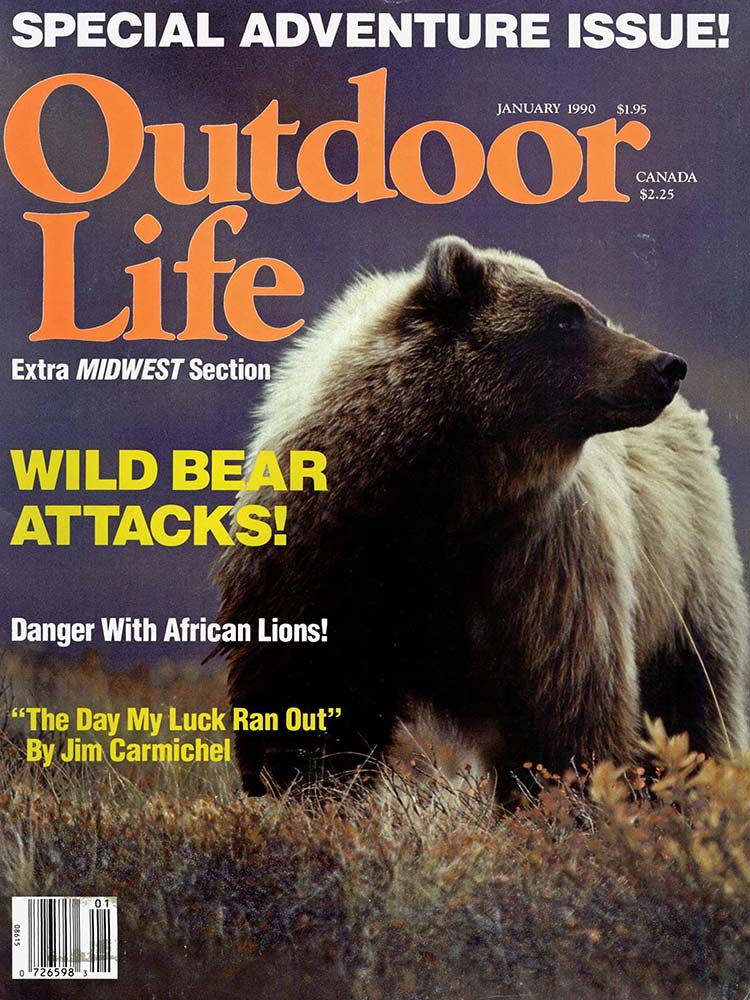 January 1990 Cover of Outdoor Life