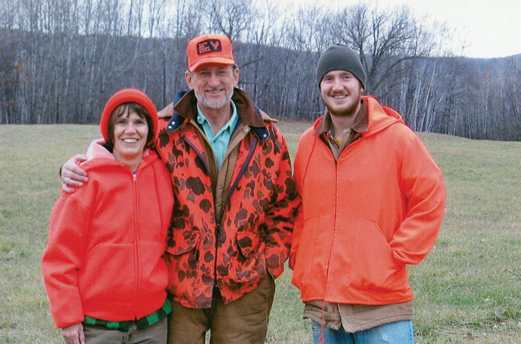 Tim Zick and his hunting family