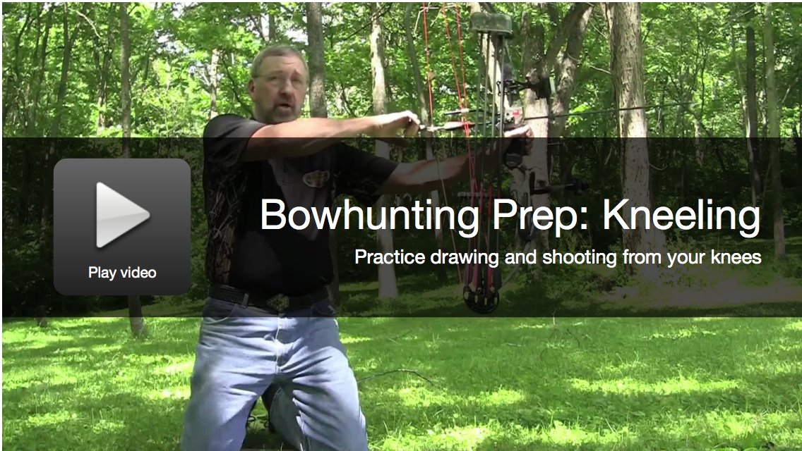 Bowhunting Prep: How To Shoot From Your Knees