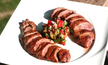 A Recipe for Grilled Wild Duck With Sour Cherry Salsa