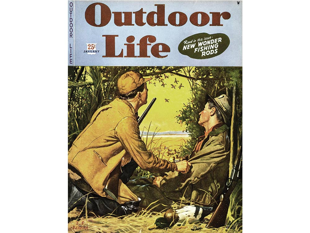 January 1945 cover of Outdoor Life