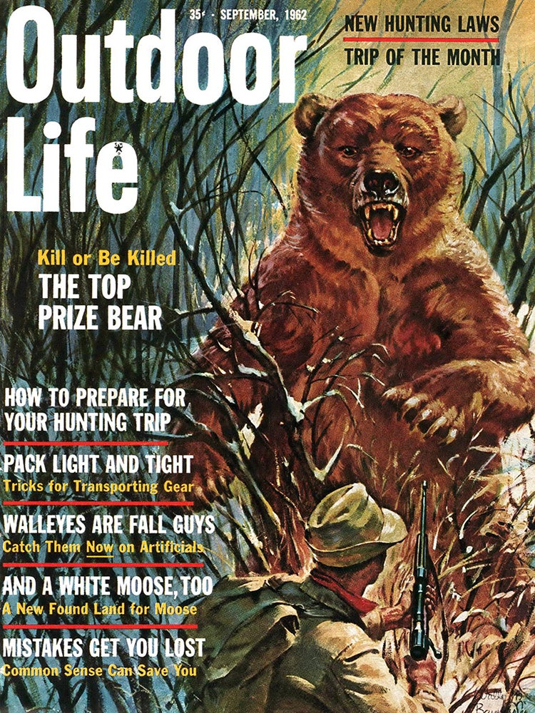 September 1962 Cover of Outdoor Life