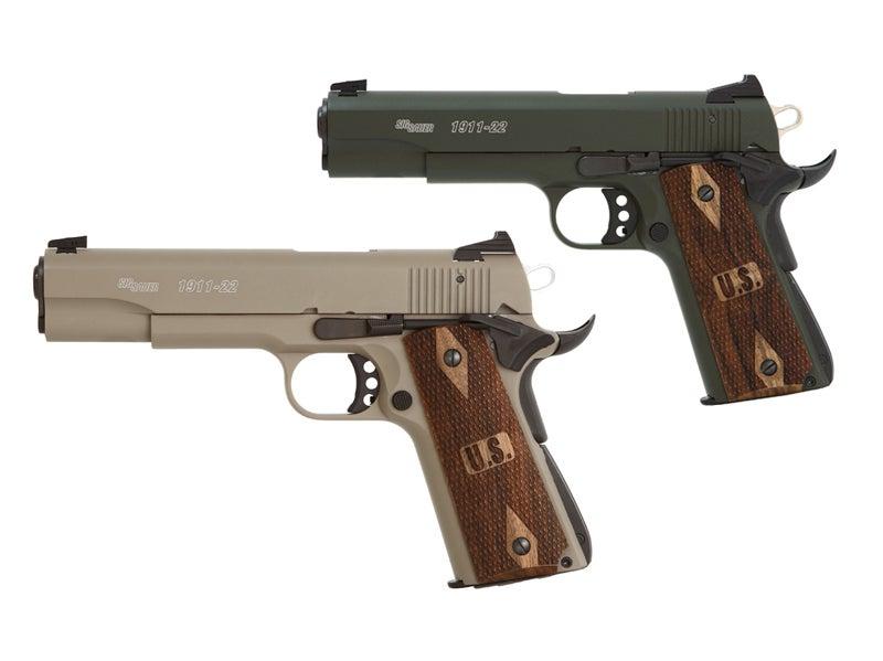 New Handgun: Sig Sauer 1911 in .22 LR