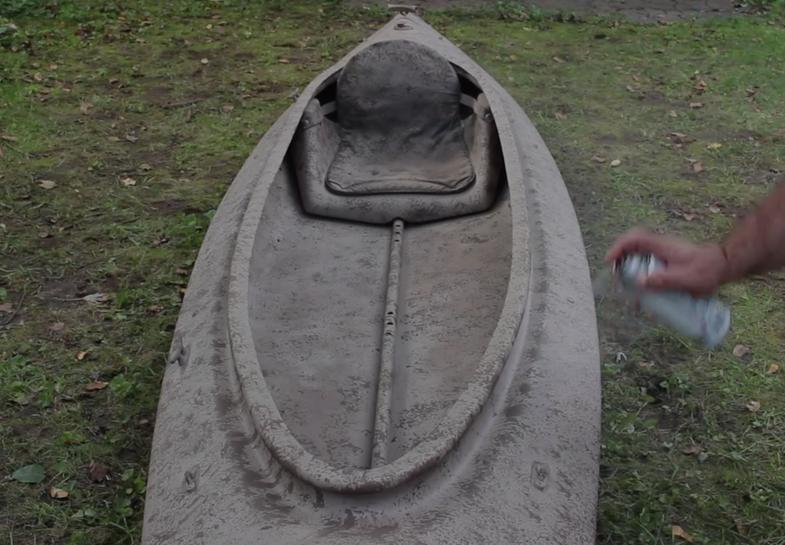 camoflauge boat