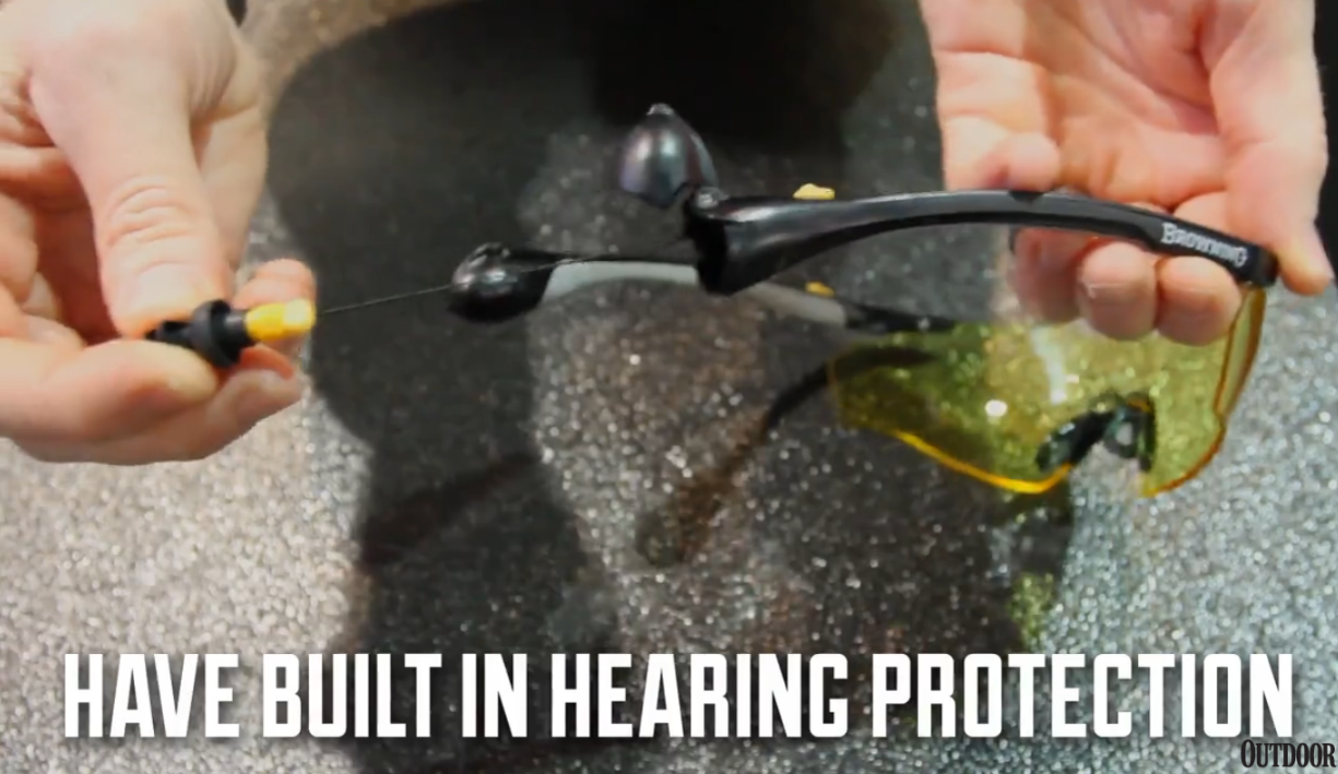 First Look: Browning Sound Shield Shooting Glasses