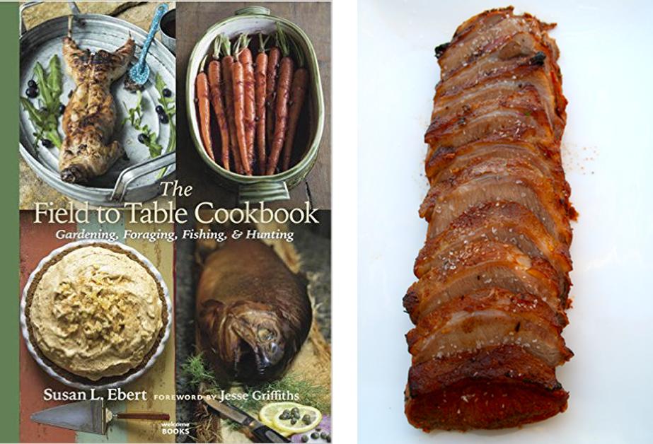 cookbook and pork