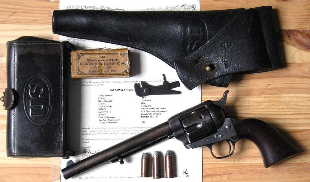 colt peace maker revolver