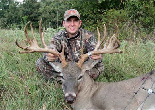 Texas Bowhunter Takes Massive Nontypical Buck