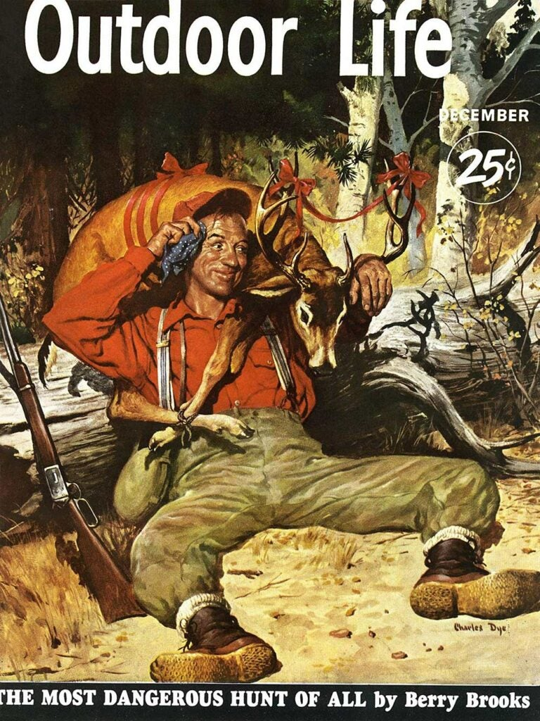 December 1951 Cover of Outdoor Life