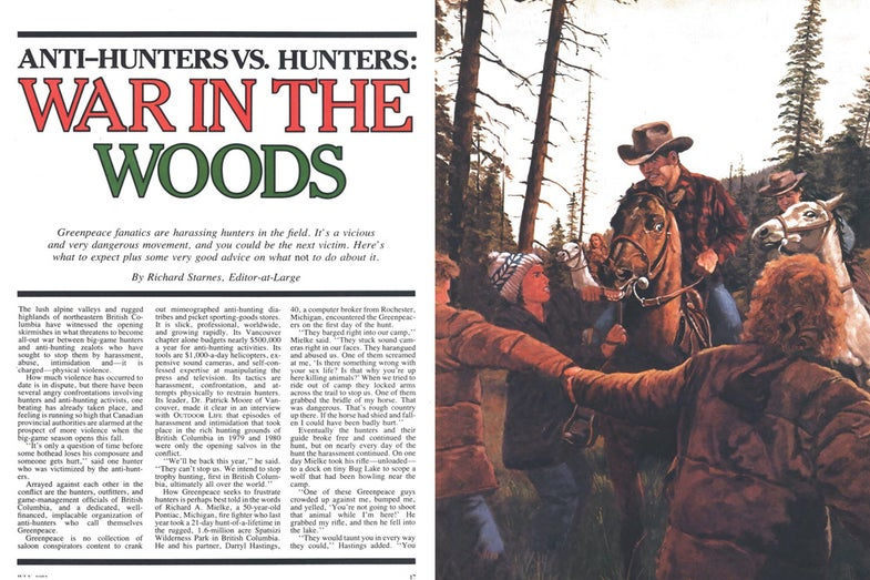 outdoor life war in the woods archive