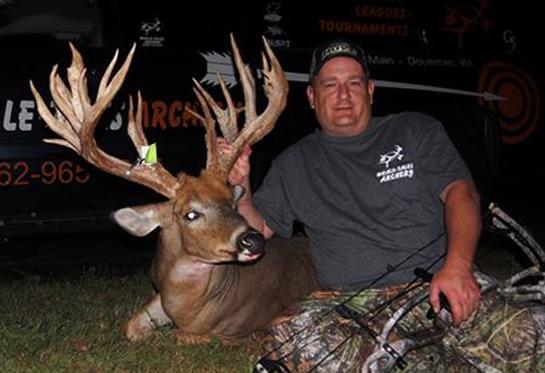 Big Buck Alert: 249-Inch Whitetail Breaks Wisconsin Archery Record