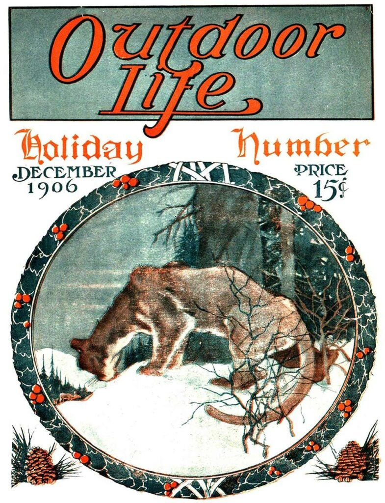 December 1906 Cover of Outdoor Life
